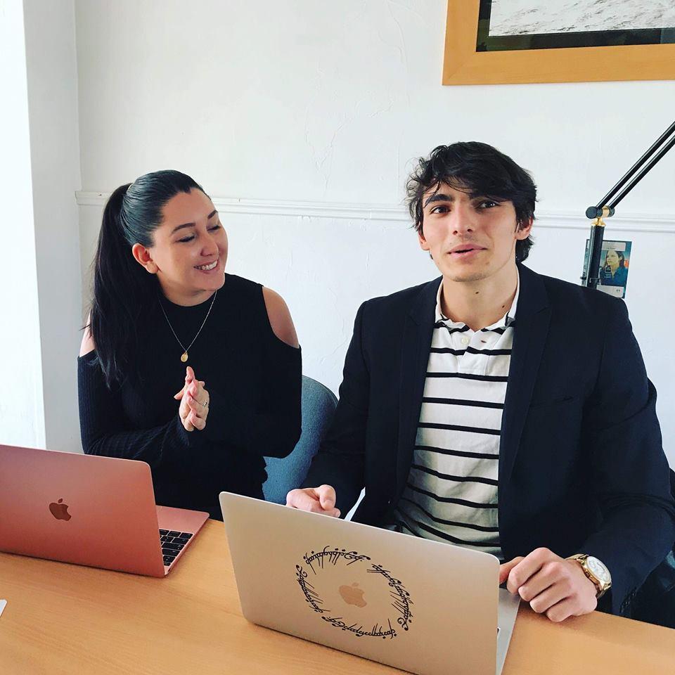 Fiorella Pauloz en formation avec un client