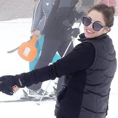 Perrine Enjolras au ski