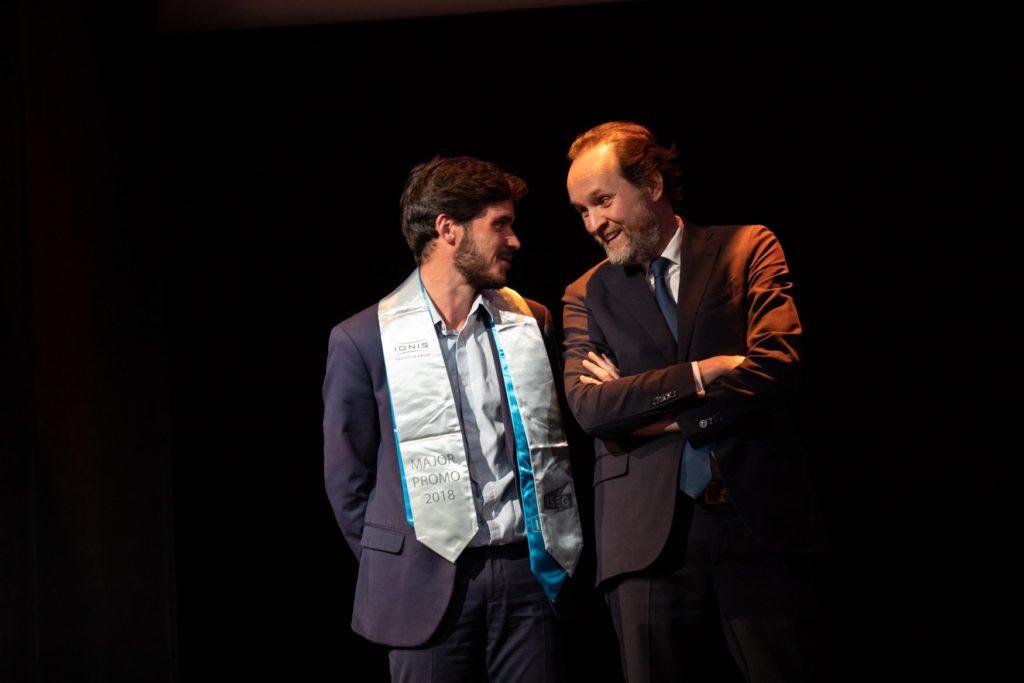 Florian Bourdot en discussion avec Jean Marc Dumontet