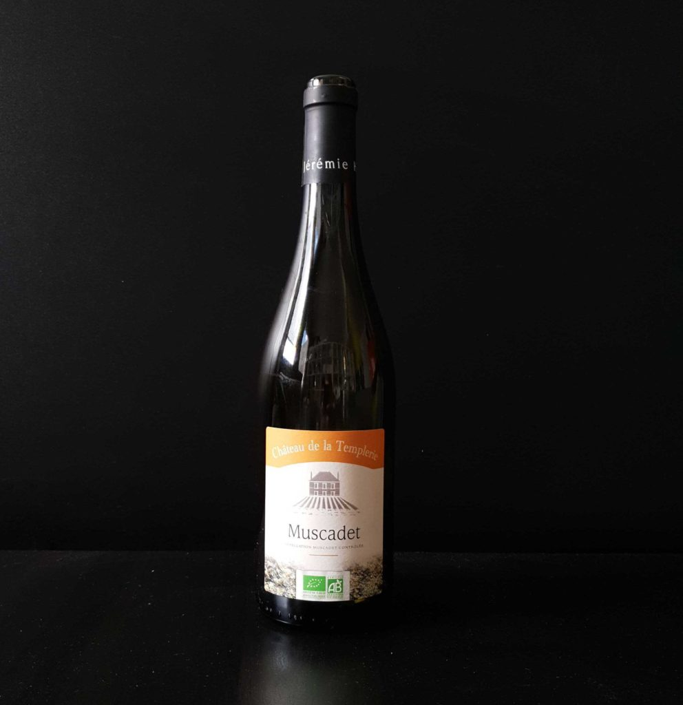 Photo d'une bouteille de Muscadet