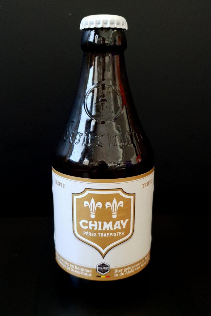 Bière Chimay blanche Triple