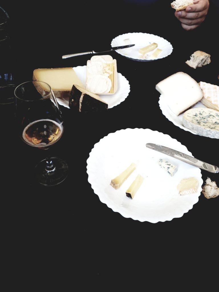Accord bière et vin avec le fromage