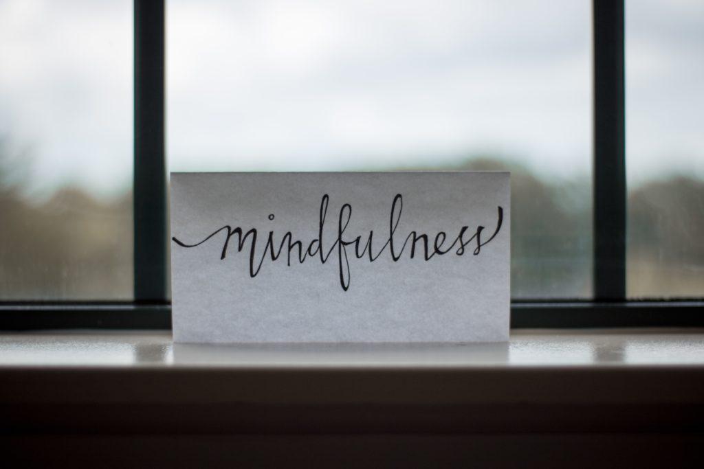Message de méditation mindfulness